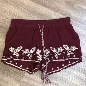Pants - These are super cute shorts, very practical.
